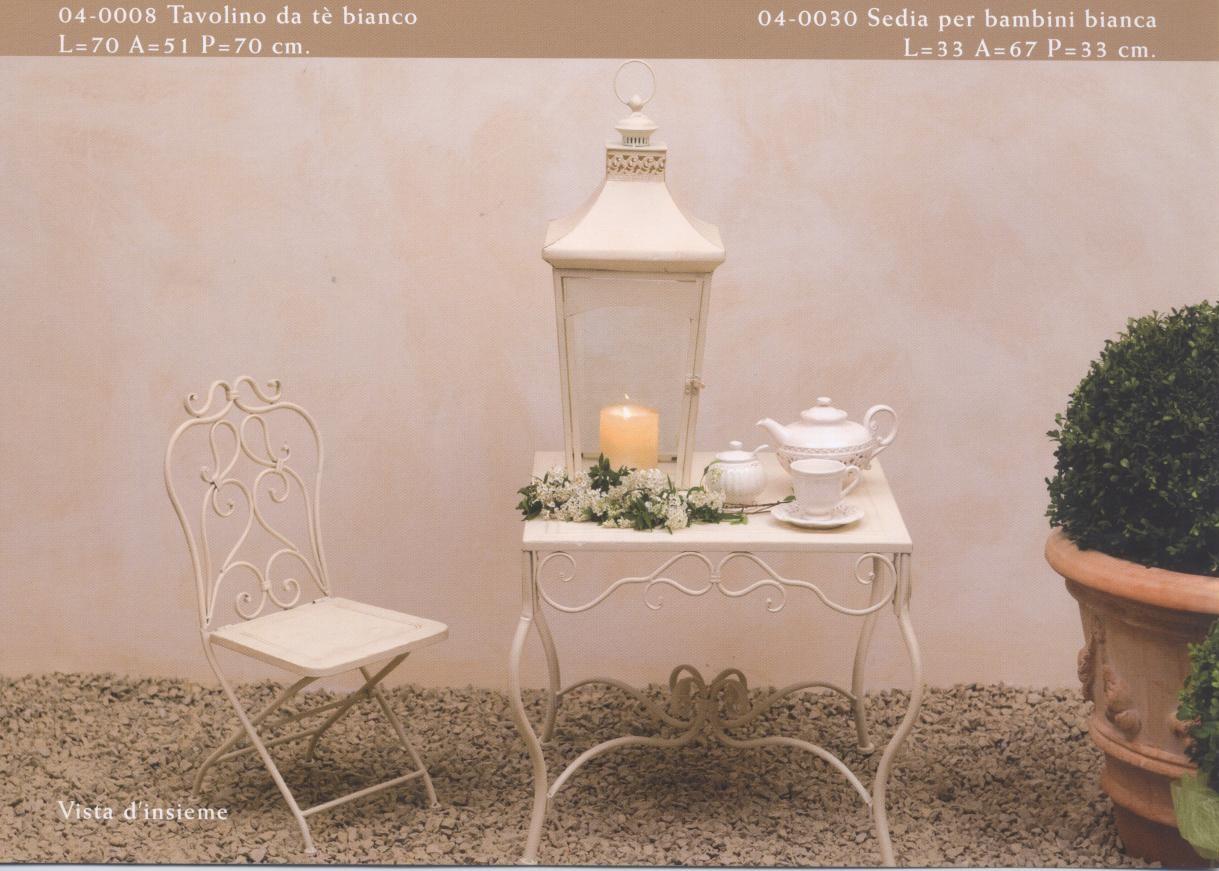 Tavolini sedute oggetti arredamento per esterno e giardino in ferro battuto hancock luxe lodge - Sedia e tavolino per bambini ...