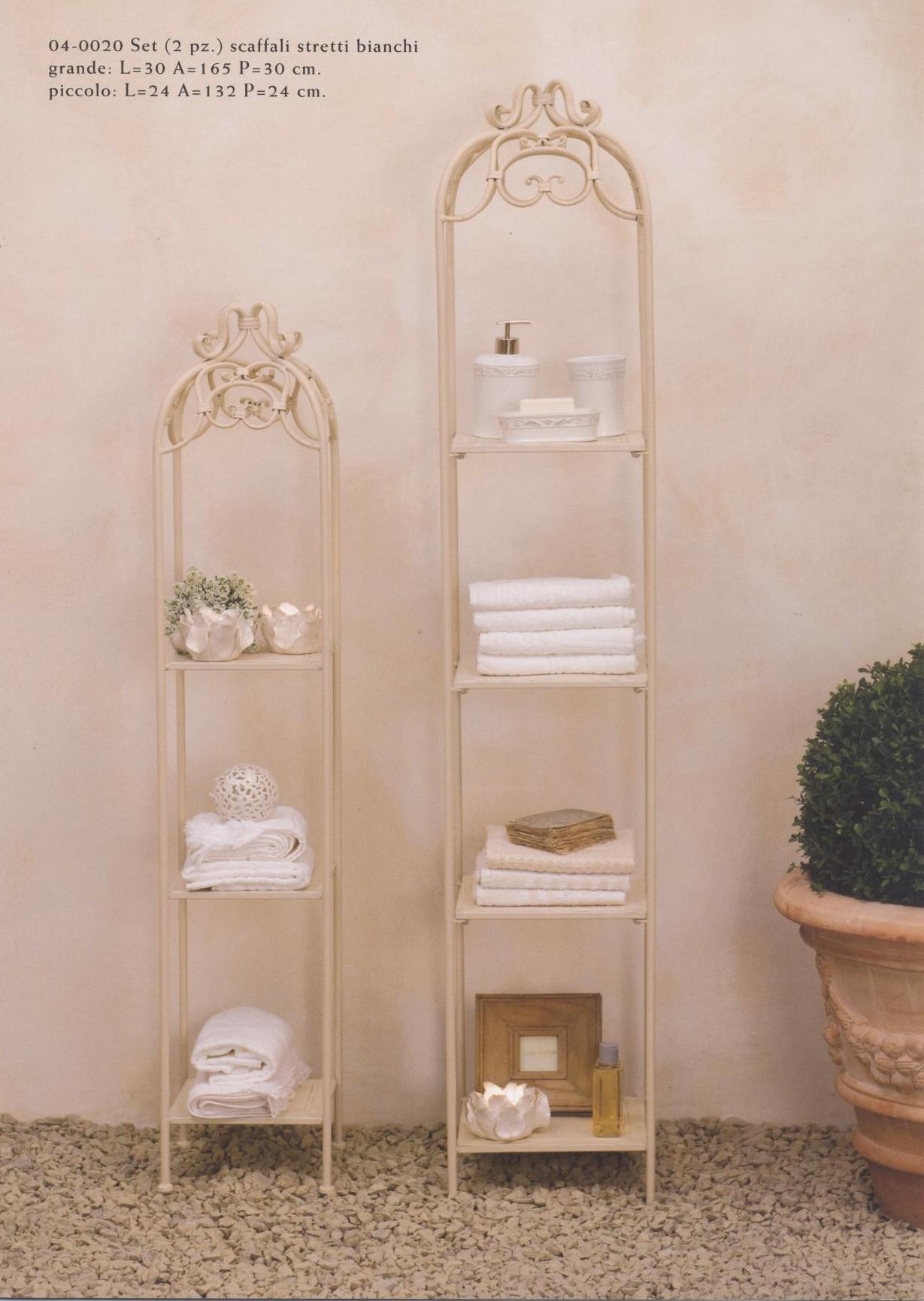 Mobiletti e accessori bagno in ferro battuto hancock - Mobiletti stile provenzale ...