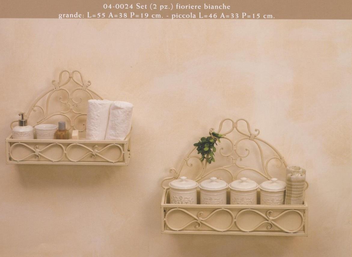 Complementi di arredamento in ferro battuto hancock luxe lodge - Mobili bagno in ferro battuto bianco ...